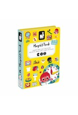JURA Toys LEARN TO TELL THE TIME MAGNETI'BOOK