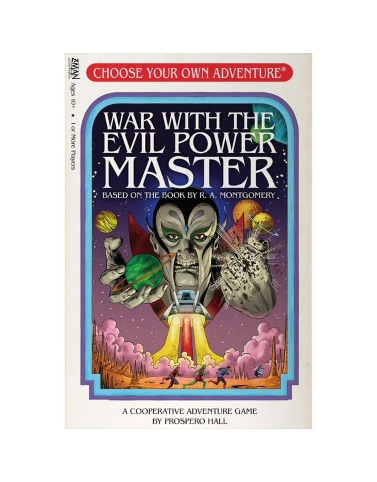 Asmodee Choose Your Own Adventure: War with the Evil Power Master