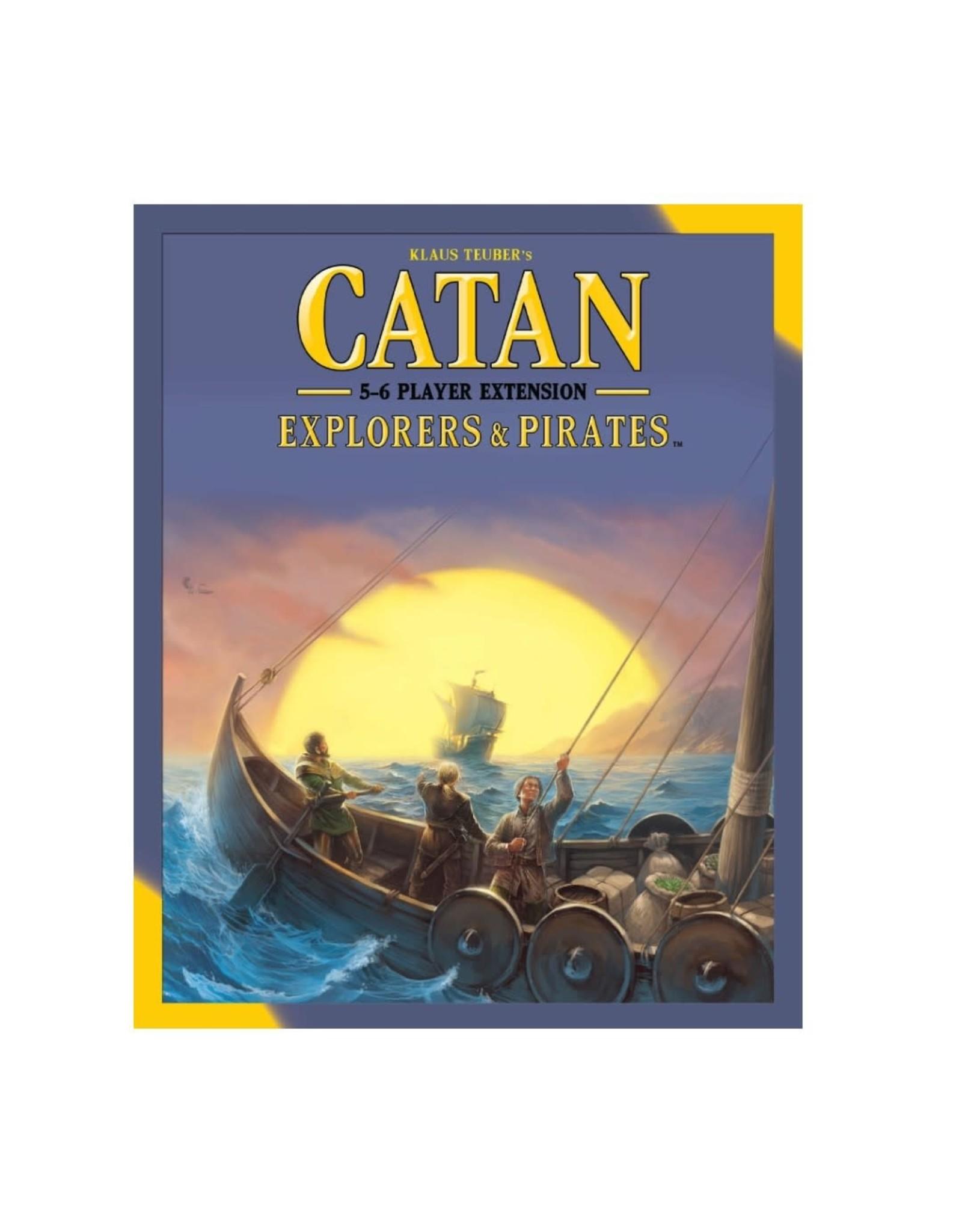Asmodee Catan Ext: Explorers & Pirates 5-6 Player