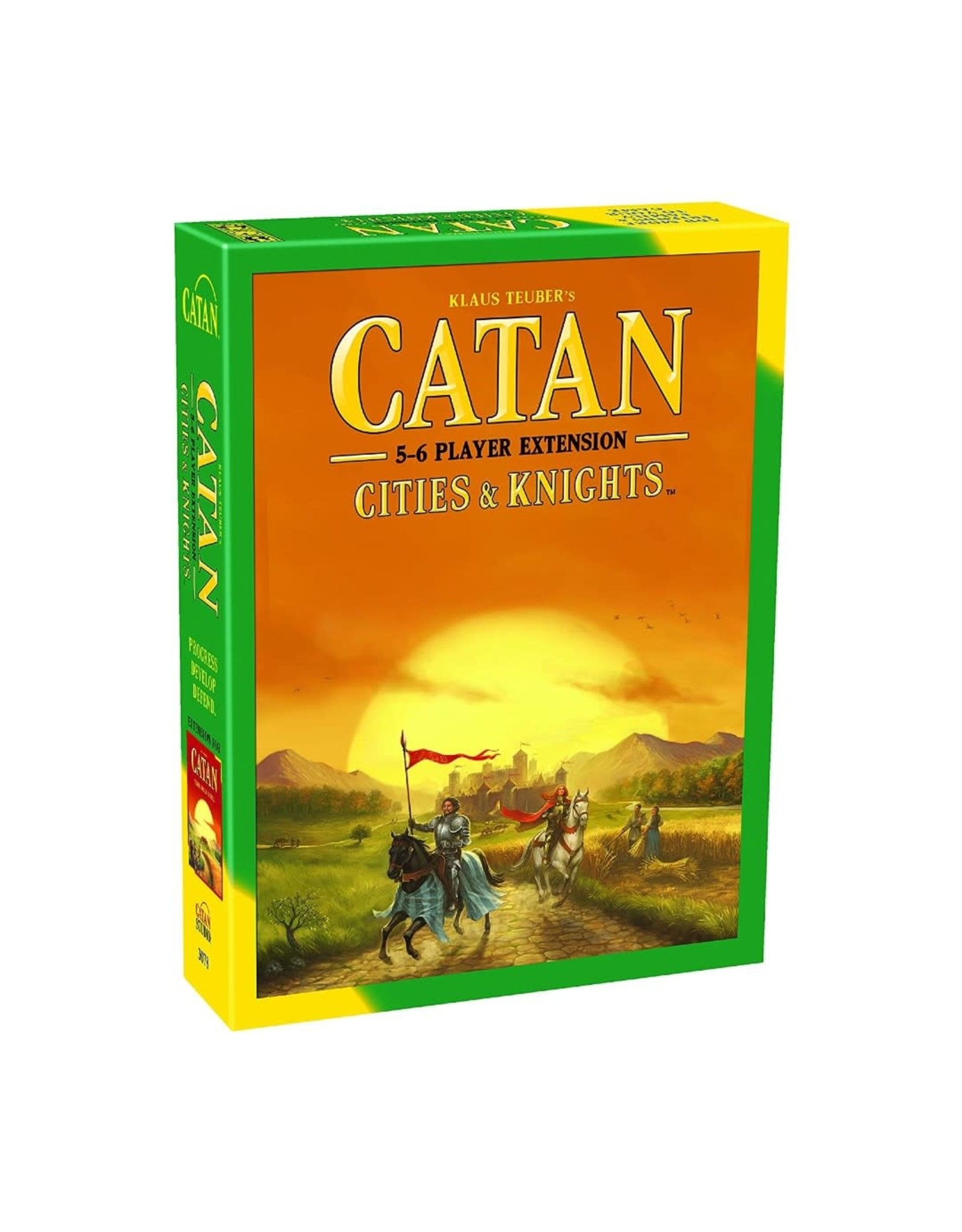 Asmodee Catan Ext: Cities & Knights 5-6 Player
