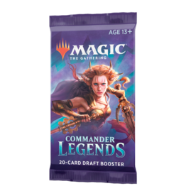 Magic the Gathering MTG Commander Legends Booster