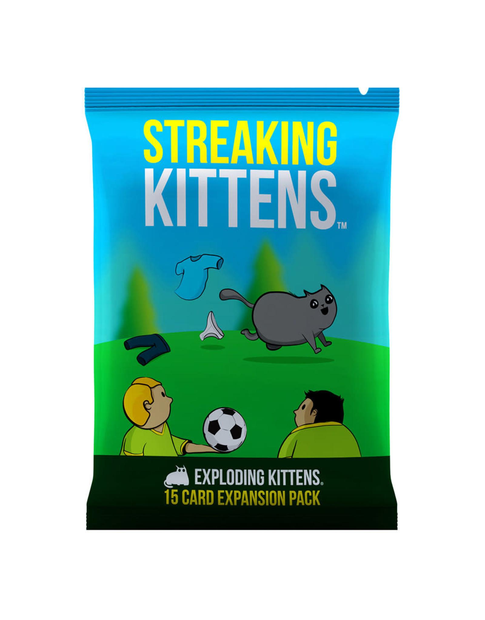 Exploding Kittens Exploding Kittens: Streaking Kittens Expansion