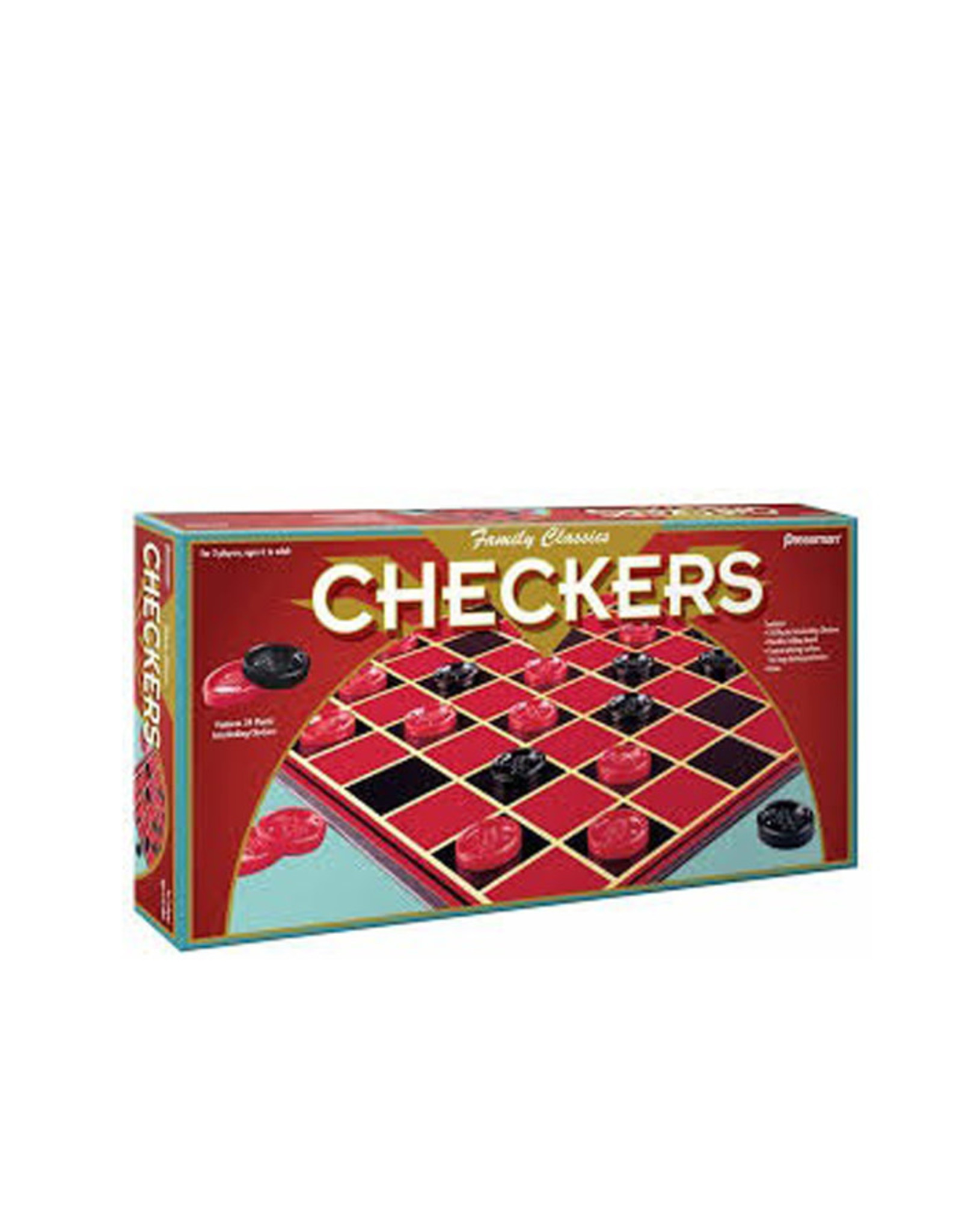 Goliath Checkers (Family Classics)