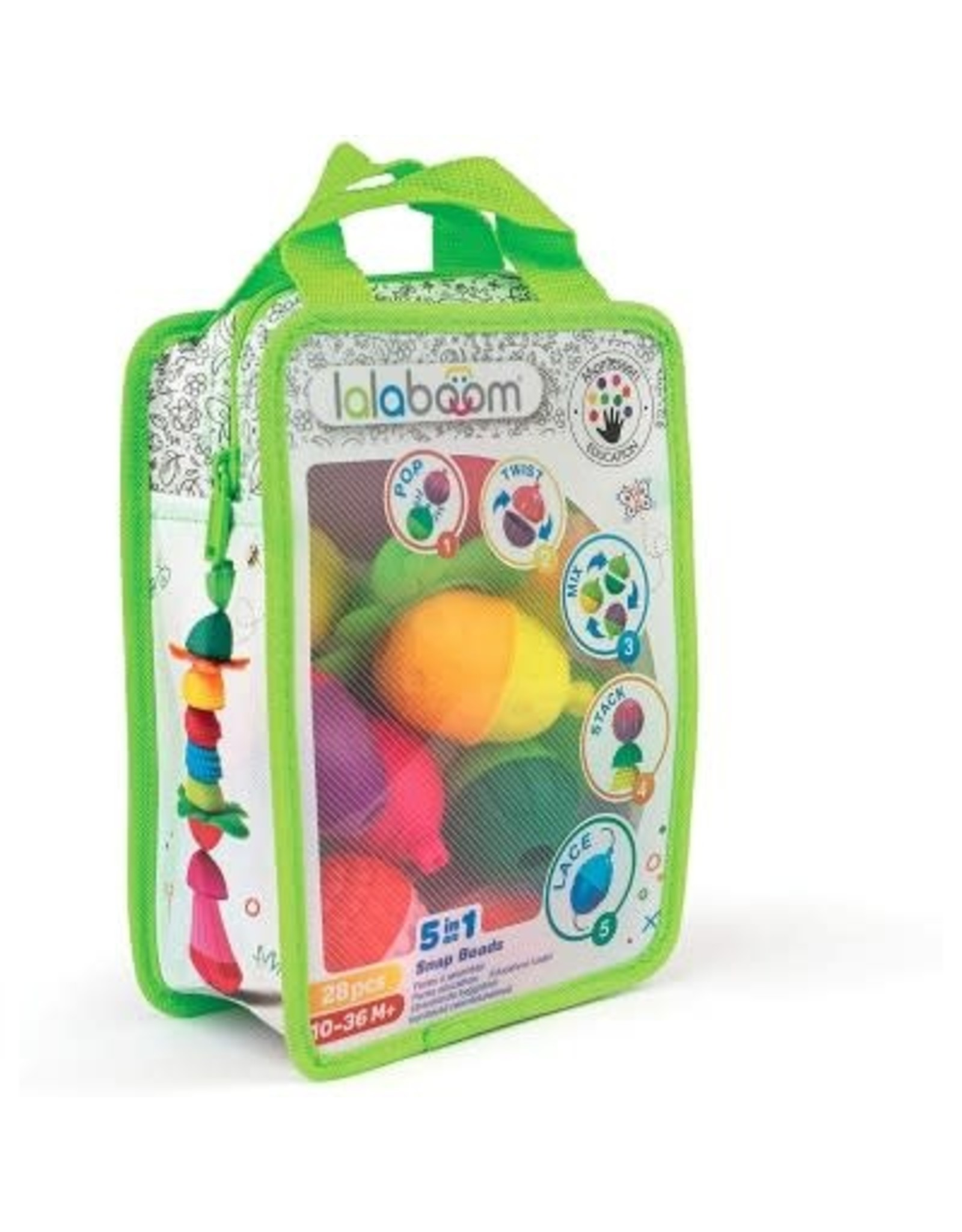 Lalaboom Bag of Beads  28 pcs