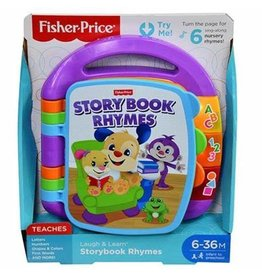 Fisher Price Story Bots Storybook Rhymes