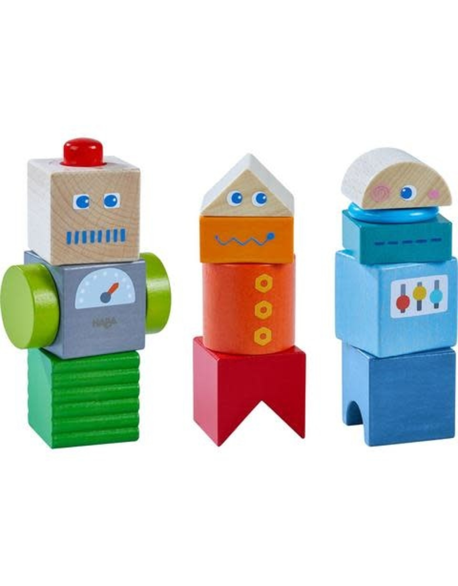 Haba Discovery Blocks Robot Friends