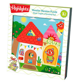 Haba Wooden Puzzle: Monster Mansion