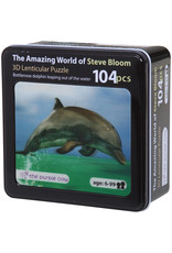 Purple Cow Bottlenose Dolphin -104pcs