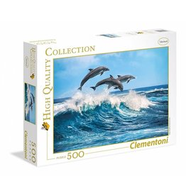 Creative Toy Company Dolphins 500 pc puzzle