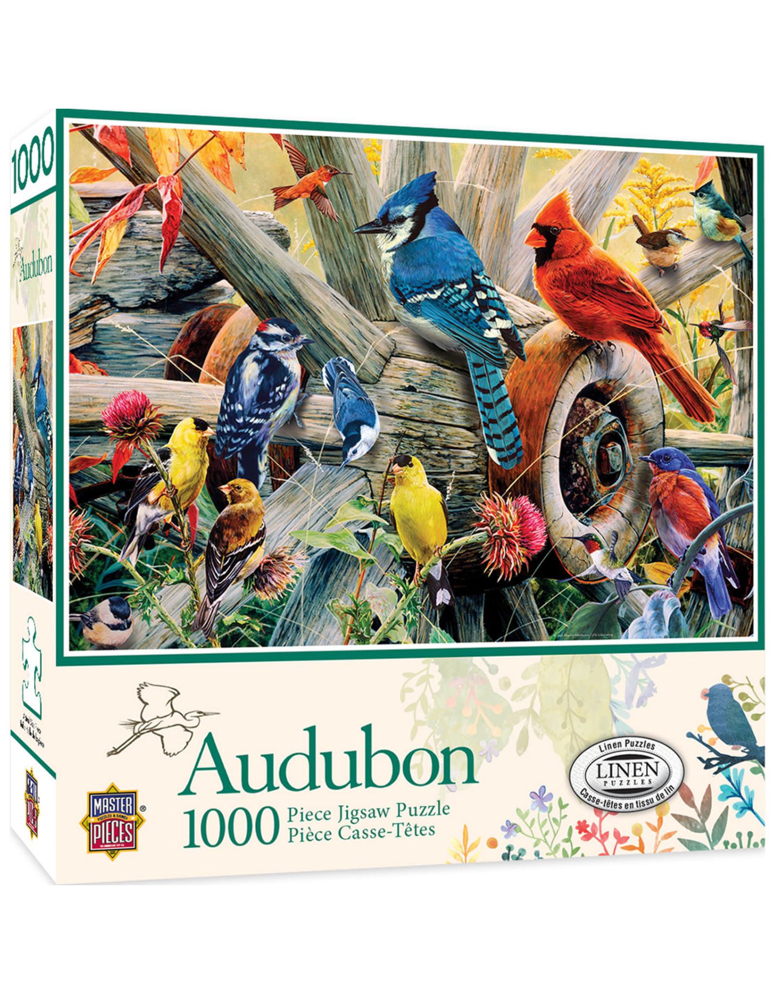 Master Pieces Audubon - Backyard Birds 1000pc Puzzle