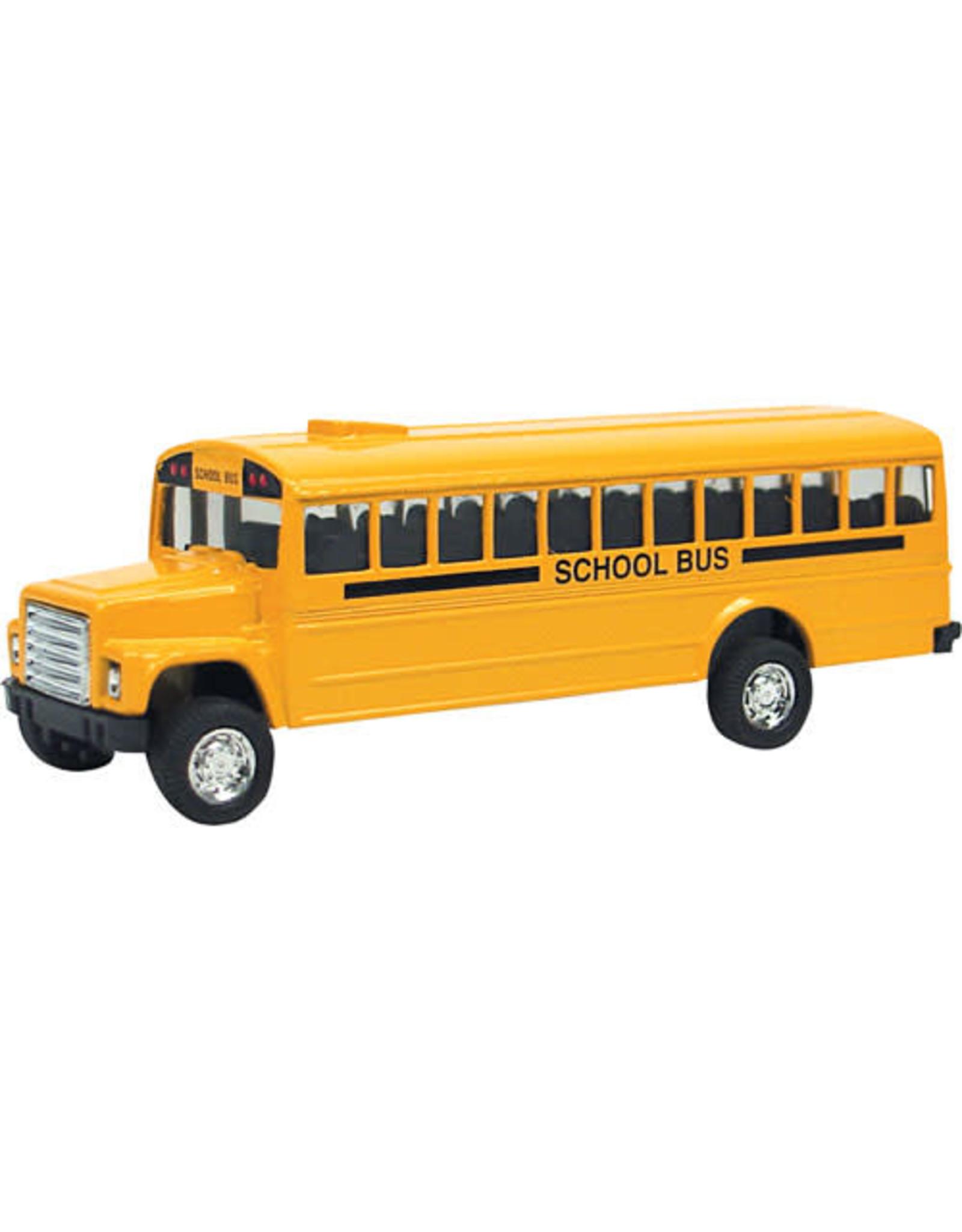 Toysmith DIE-CAST BUS; PULL-BACK