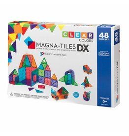 Magna-Tiles Magna-Tiles Clear Deluxe 48pc