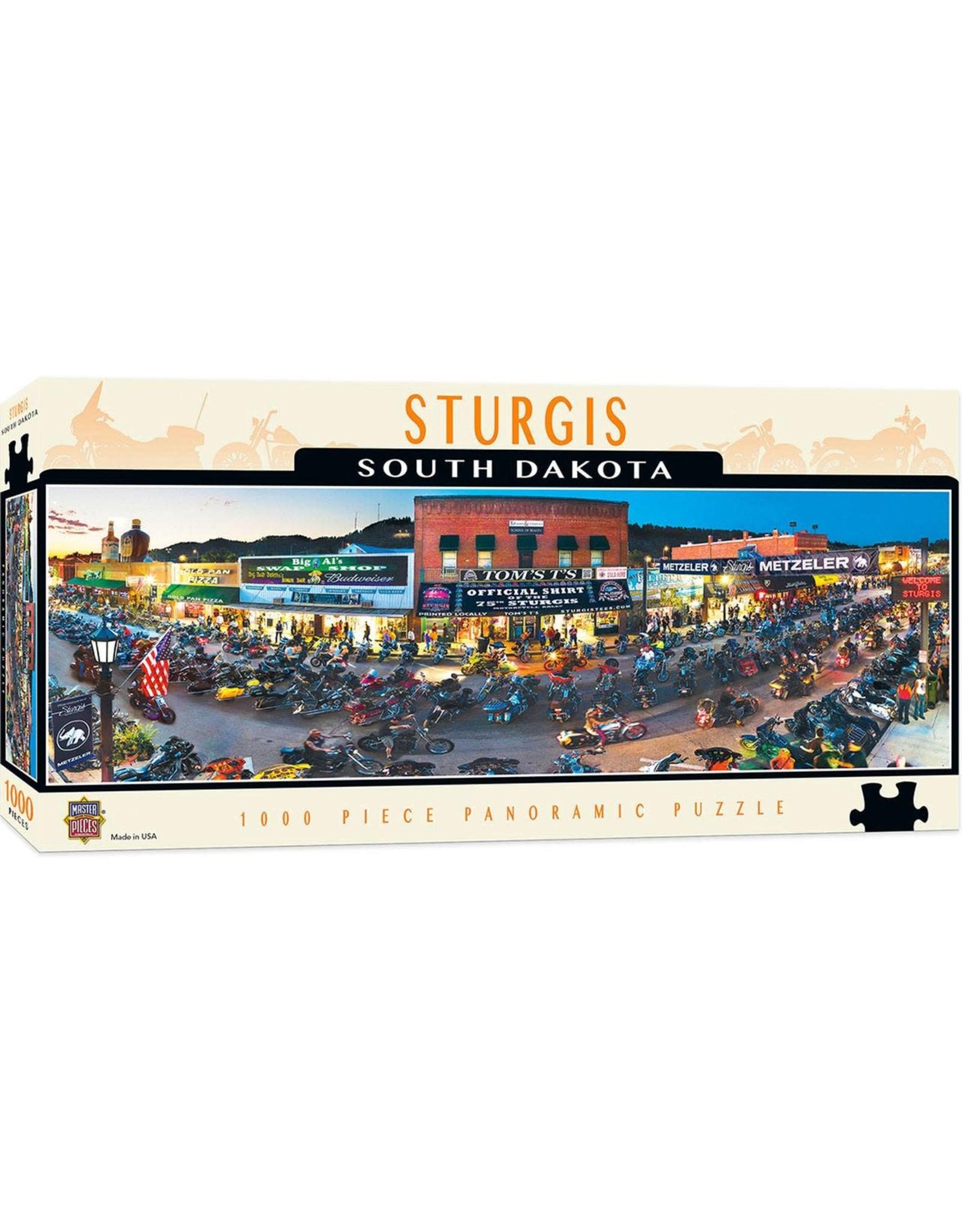 Master Pieces American Vistas - Sturgis 1000pc Panoramic Puzzle