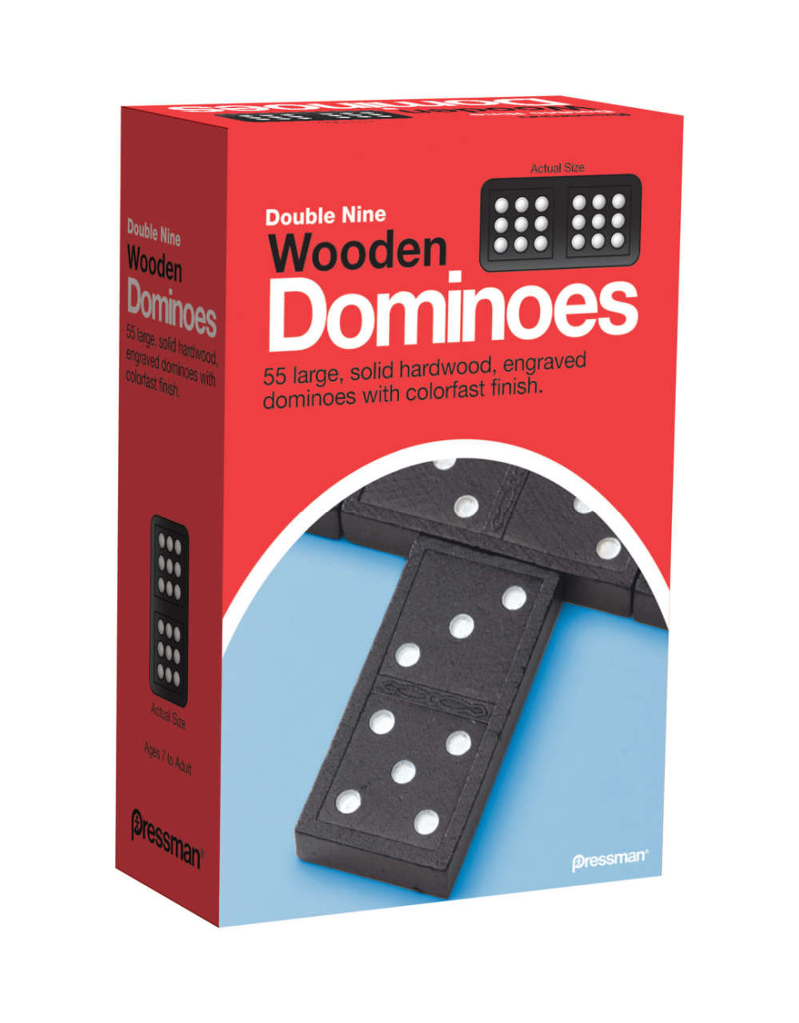Goliath Dominoes: Double Nine Wooden Dominoes