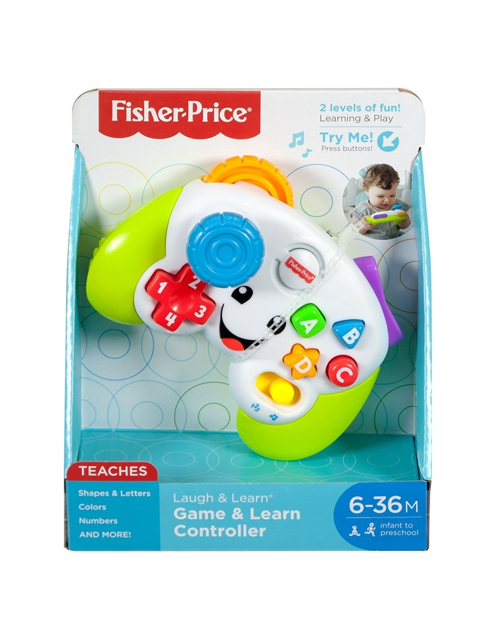 Fisher Price Fisher Price Laugh N Learn Game Controller