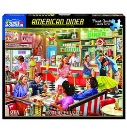 White Mountain Puzzles American Diner