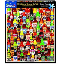 White Mountain Puzzles 99 Bottles of Beer on the Wall 1000 Pieces