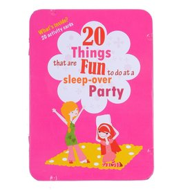 Purple Cow 20 Things that are Fun to do at a Sleepover Party