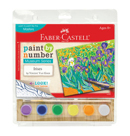 Faber-Castell Paint By Number Museum Series-Irises
