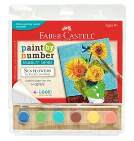 Faber-Castell Paint By Number Museum Series-Sunflowers