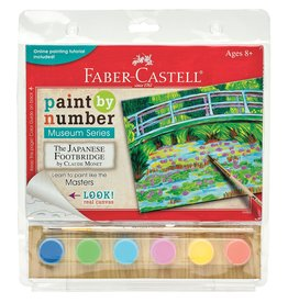 Faber-Castell Paint By Number Museum Series-The Japanese Footbridge