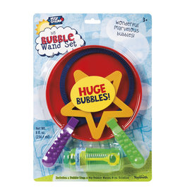 Toysmith Big Bubble Set