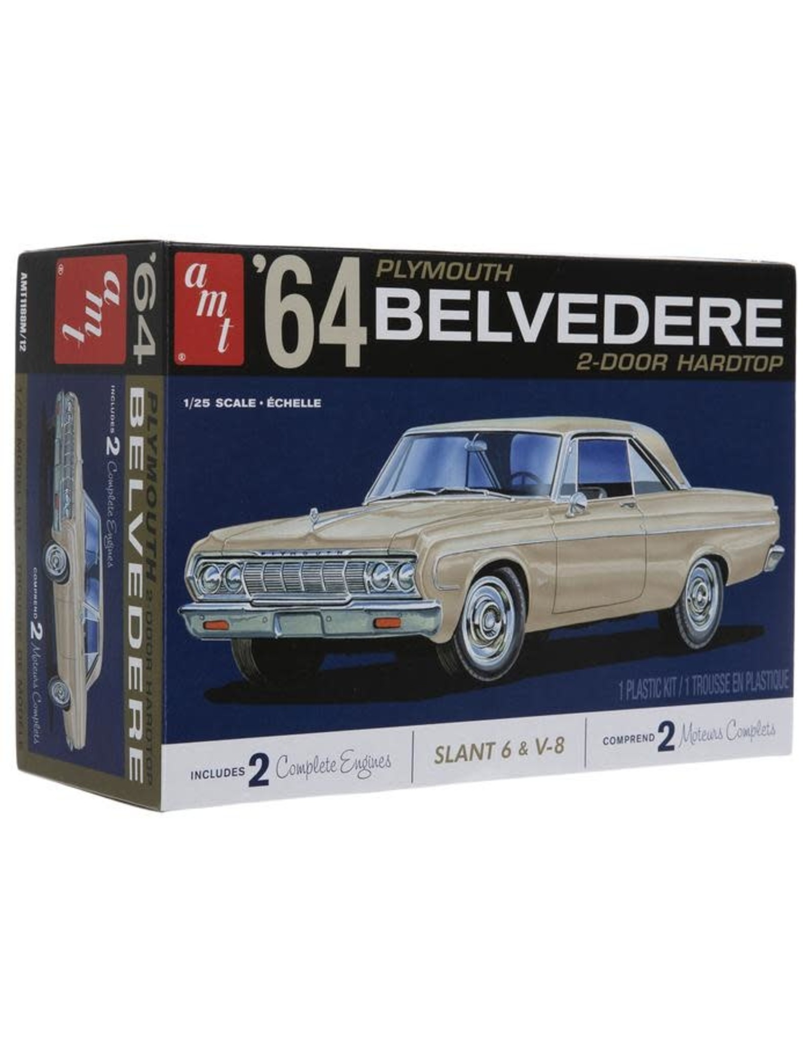 AMT 1964 Plymouth Belvedere 1:25