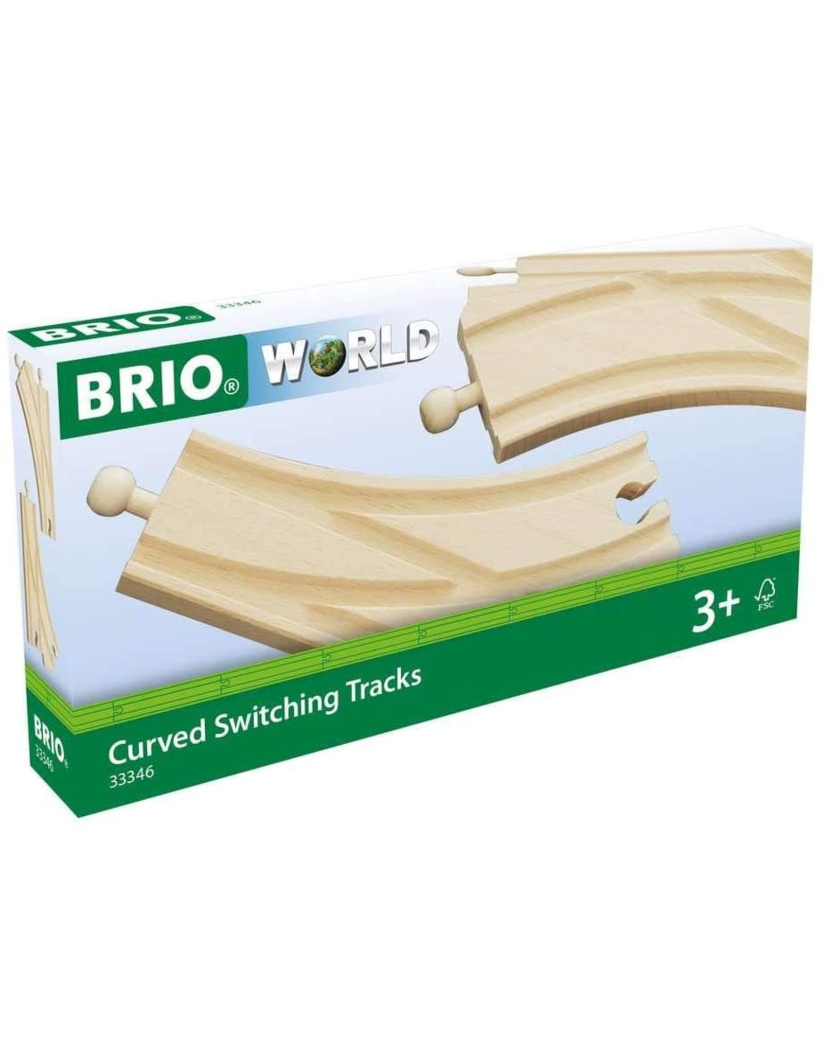 BRIO Curved Switching Tracks
