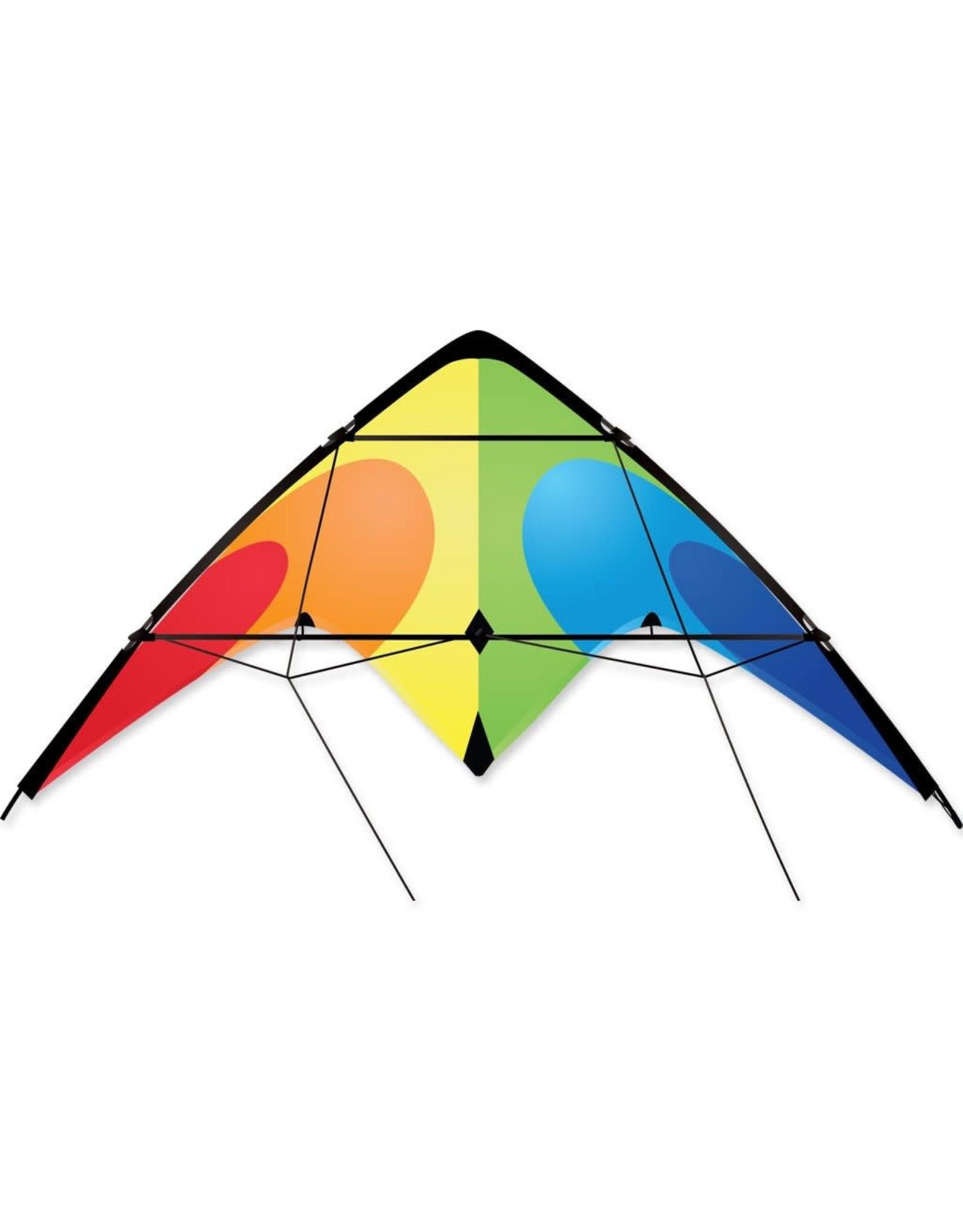 Premier Kites Flash Sport Kite- Rainbow