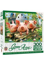 Master Pieces Green Acres - Three 'Lil Pigs 300pc EzGrip Puzzle
