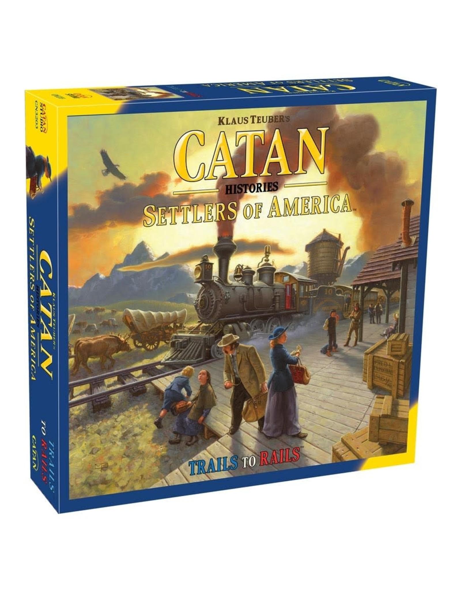 Asmodee Catan Histories: Settlers of America
