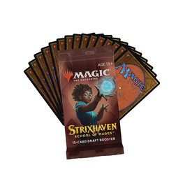 Magic the Gathering Magic the Gathering Strixhaven Draft Booster