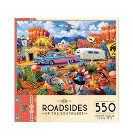 Master Pieces Roadsides of the Southwest - Off the Beaten Path 550pc Puzzle