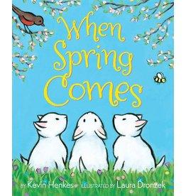 Harper Collins When Spring Comes Board Book