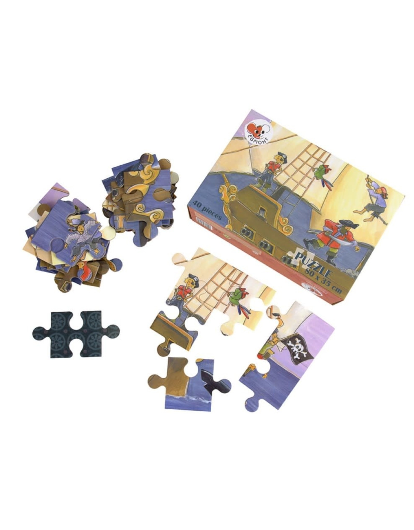6 Floor Puzzle 40 pcs in a case Pirate