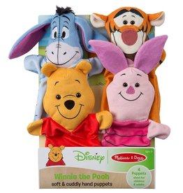 Melissa & Doug Disney Winnie the Pooh Hand Puppets