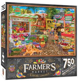 Master Pieces Farmer's Market - Sale on the Square 750pc Puzzle
