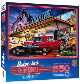 Master Pieces Drive-Ins, Diners and Dives - Starlite Drive-In 550pc Puzzle