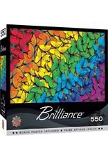 Master Pieces Brilliance - Fluttering Rainbow 550pc Puzzle