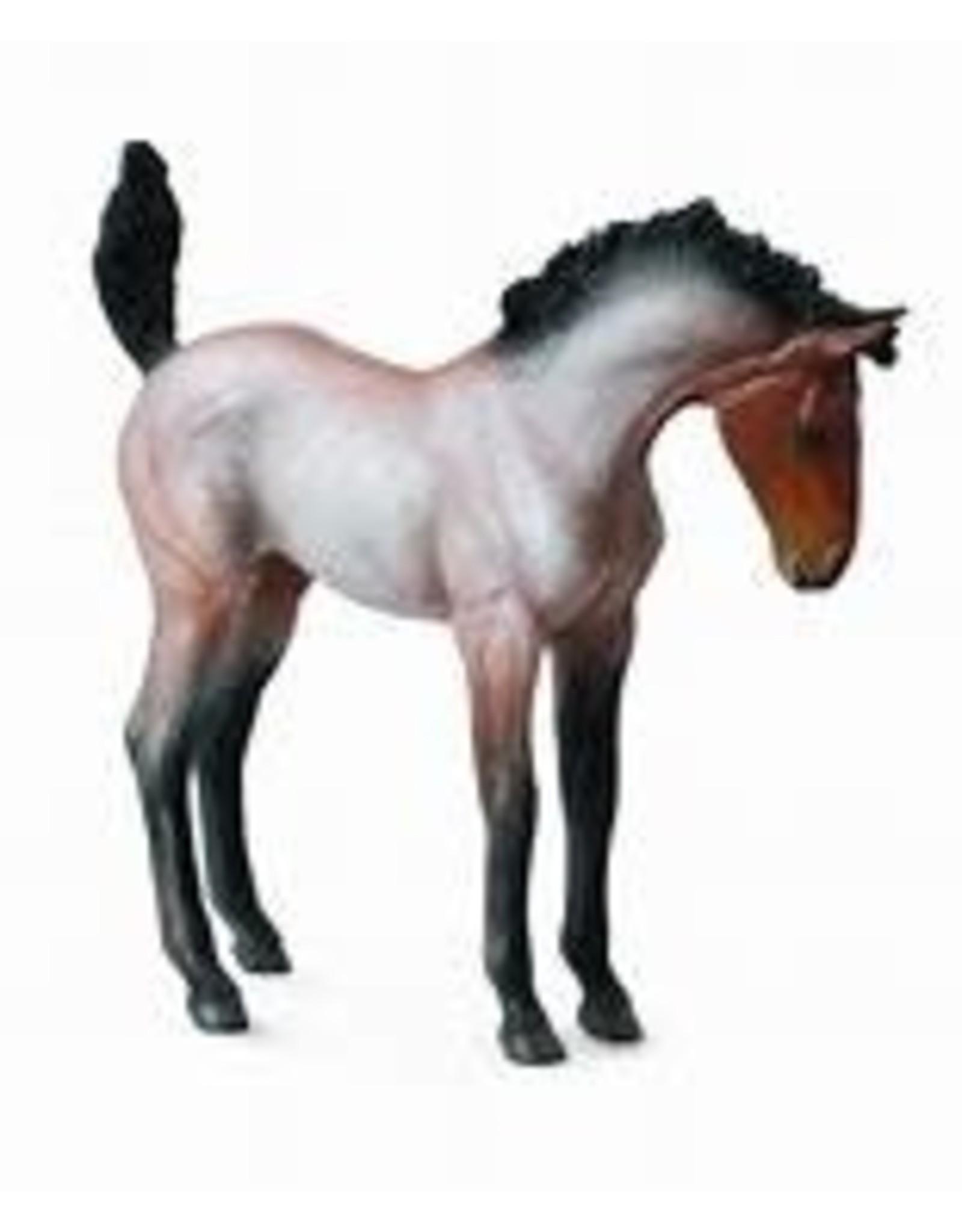 CollectA Bay Roan Mustang Foal