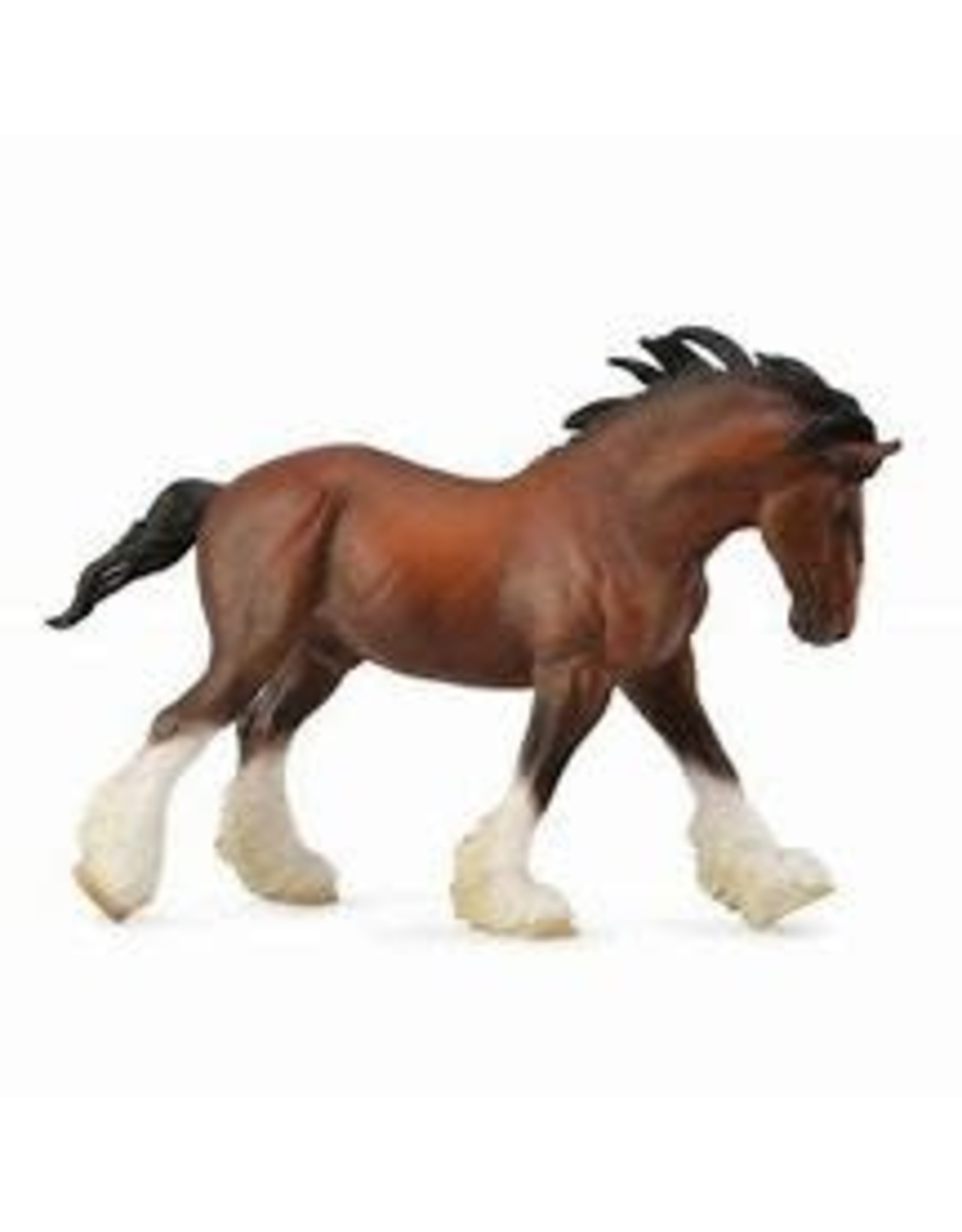 CollectA Bay Clydesdale Stallion