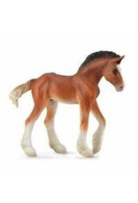 CollectA Bay Clydesdale Foal