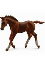 CollectA Chestnut Thoroughbred Foal - Walking