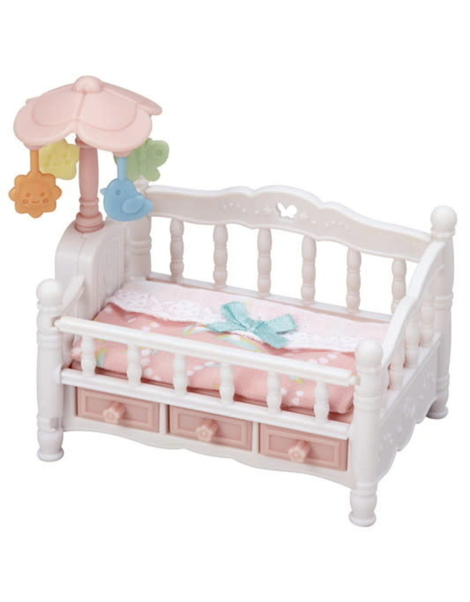 Calico Critters Crib With Mobile