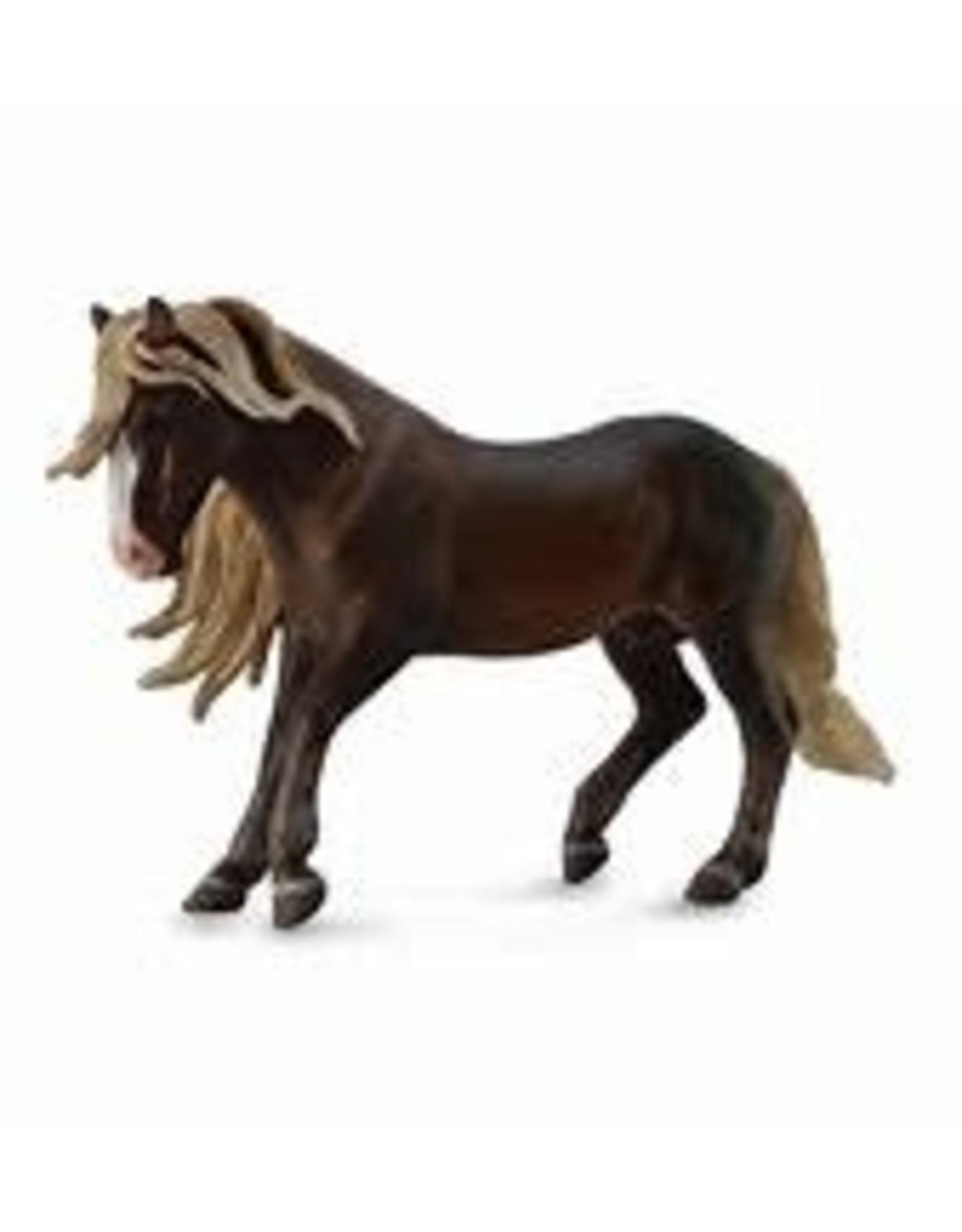 CollectA Black Forest Horse Stallion