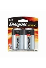 Energizer D 2 pack