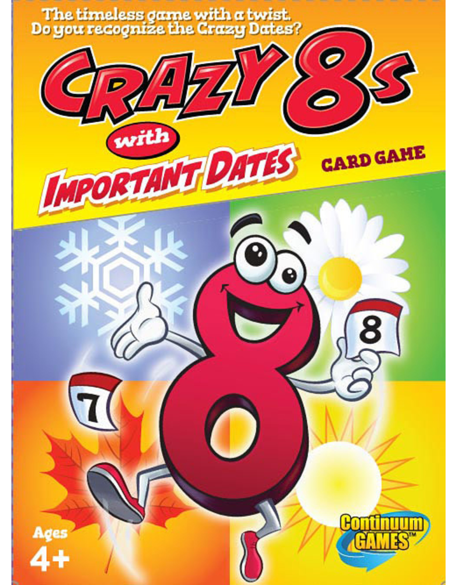 Continuum Crazy 8s with Important Dates