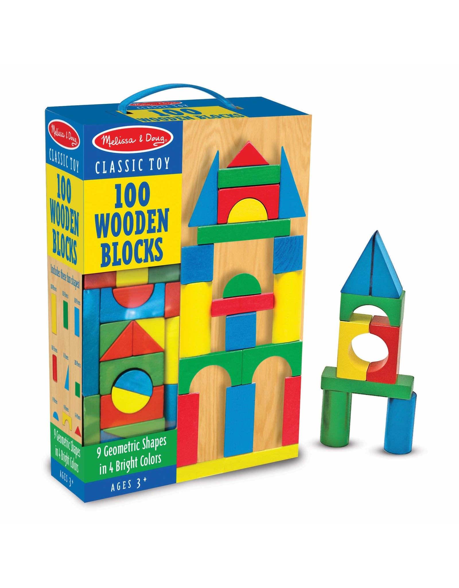 Melissa & Doug 100 Wooden Blocks