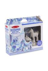 Melissa & Doug Decoupage Made Easy Deluxe Craft Set - Horse & Pony