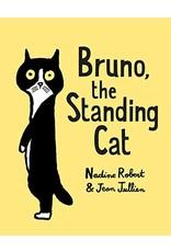 Bruno, the Standing Cat